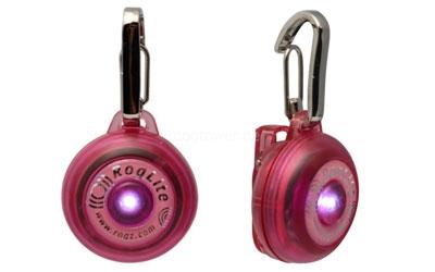 Rogz Leuchtanhänger in pink