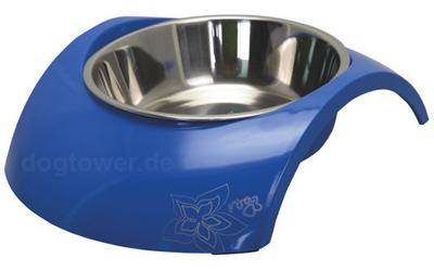 Rogz Melamin Hundenapf Luna, Blue Floral