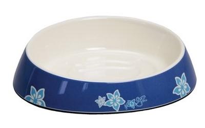 Rogz Fishcake Melaminnapf Blue Floral