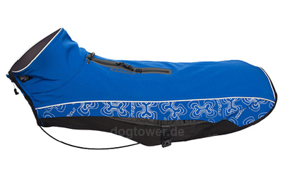 Rogz Softshell- Hundemantel Sport Skin, blau