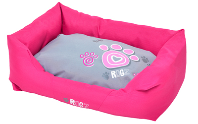 Rogz Spice Podz Hundebett Pink Paws