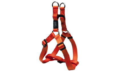 Rogz Utility Reflective Stitching Step in Hundegeschirr, orange