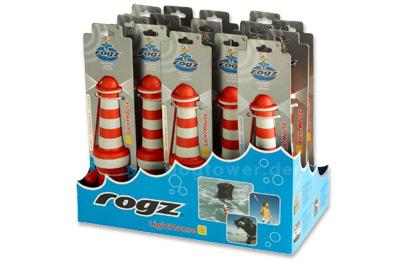 Rogz Lighthouse, Schwimm- und Wurfspielzeug