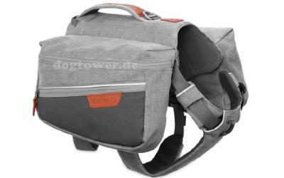 Ruffwear Commuter Pack, Hunderucksack, cloudburst gray