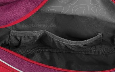 Extra große Seitentaschen für ausreichend Stauraum
