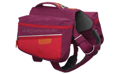 Ruffwear Commuter Pack, Hunderucksack, larkspur purple