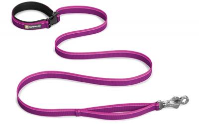 Ruffwear Hundeleine Flat Out, purple dusk
