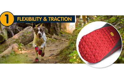 Grip Trex rot für (fast) jeder Hunderasse geeignet