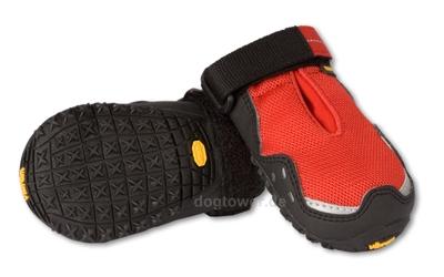 Hundeschuhe Ruffwear Grip Trex, rot 3M