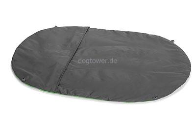 Ruffwear Highlands Hundebett, grün-grau