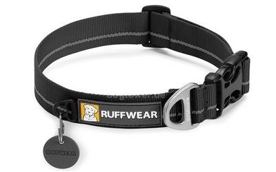 Ruffwear Hundehalsband Hoopie Collar, obsidian black