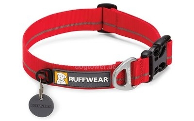 Ruffwear Hundehalsband Hoopie Collar, red currant