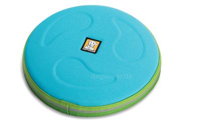 Ruffwear Frisbee in blue atoll
