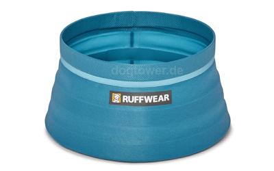 Ruffwear Hundefaltnapf Bivy Bowl, blue spring