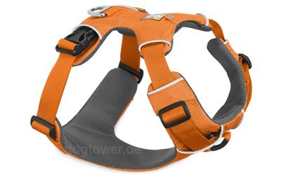 Ruffwear Hundegeschirr Front Range, orange poppy