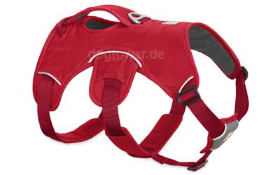 Ruffwear Hundegeschirr Web Master, red currant