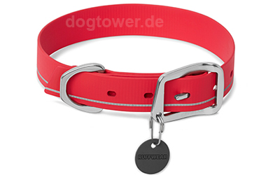 Ruffwear Hundehalsband Headwater Collar, red currant