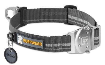 Ruffwear Hundehalsband Top Rope™ granite/grau