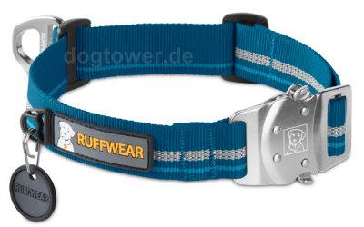 Ruffwear Hundehalsband Top Rope, blau