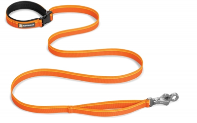 Ruffwear Hundeleine Flat Out, orange sunset
