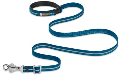 Ruffwear Hundeleine Slackline, metolius blue
