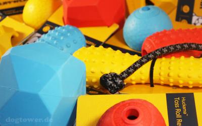 Neue Farben in der Ruffwear Spielzeug Kollektion