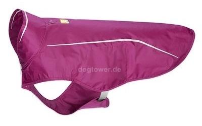 Hundejacke Ruffwear Sun Shower, purple dusk