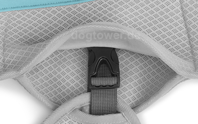 Ruffwear Kühlweste mit seitlich angebrachtem Klickverschluss