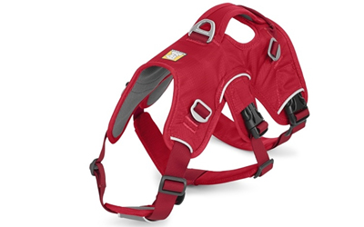 NEUER Ruffwear Palisades Pack Hunderucksack in red currant