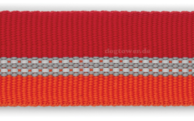Stabiles Gurtband in kokanee red