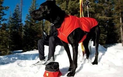 Ruffwear Hundemantel Quinzee, rot