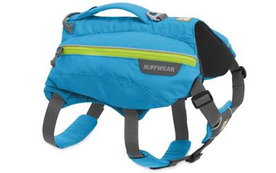 Ruffwear Singletrak Pack Hunderucksack, blue dusk