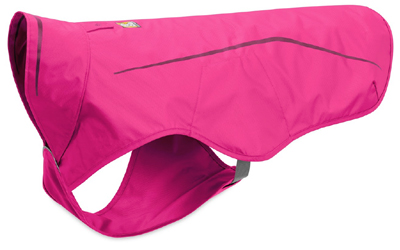 Ruffwear Sun Shower Rain Jacket, wasserdichte Regenjacke, alpenglow pink