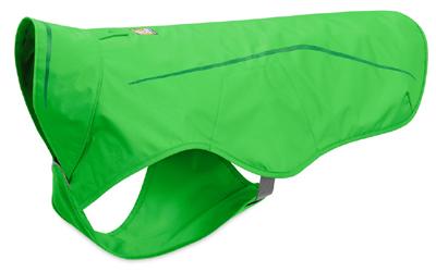 Ruffwear Sun Shower Rain Jacket, wasserdichte Regenjacke, meadow green