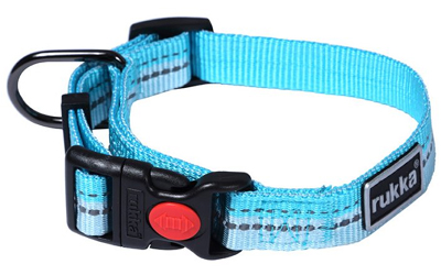 rukka Beam Collar Hundehalsband, aqua