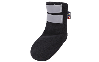 rukka Fleece Shoes Hundeschuhe, schwarz