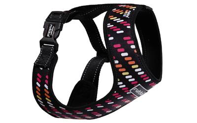 rukka Mini Comfort Print Harness Hundegeschirr, pink mix