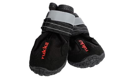rukka Proff Shoes Hundeschuhe, schwarz