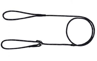 rukka Rope Retriever Leash Hundeleine, black