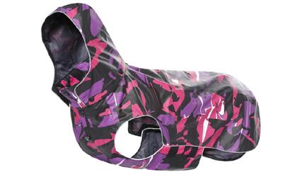 rukka Stream raincoat Regenjacke, violett/pink