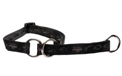 Schlupfhalsband Rogz, Alpinist, schwarz