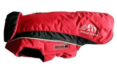 Wolters Skijacke Dogz Wear, rot/schwarz