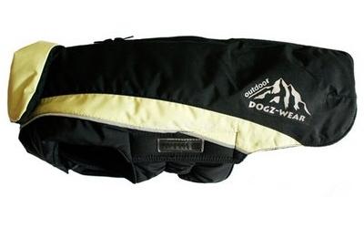 Wolters Skijacke Dogz Wear, schwarz/lime