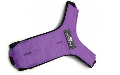 SleepyPod Clickit Sport Hunde-Sicherheitsgurtgeschirr, true violet