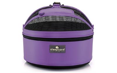 SleepyPod, true violet
