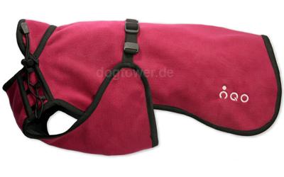Softshell Hundemantel IQO VXf, cranberry