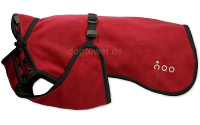Softshell Hundemantel IQO VXf, rubinrot