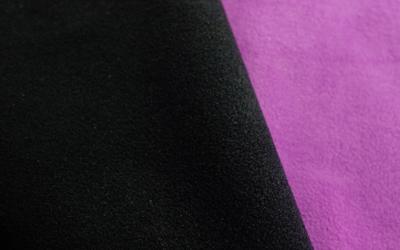 IQO VXf Softshell Hundemantel, schwarz/violett