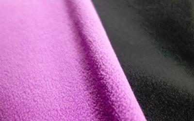 IQO VXf Softshell Hundemantel, violett/schwarz
