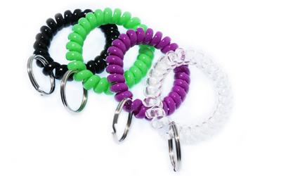 Spiralarmband für Clicker und Hundepfeifen